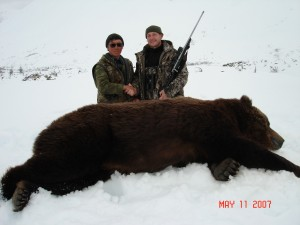Far Eastern bear hunt with Sergei Shushunov