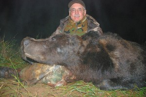 brown bear hunt in Vologda with Sergei Shushunov